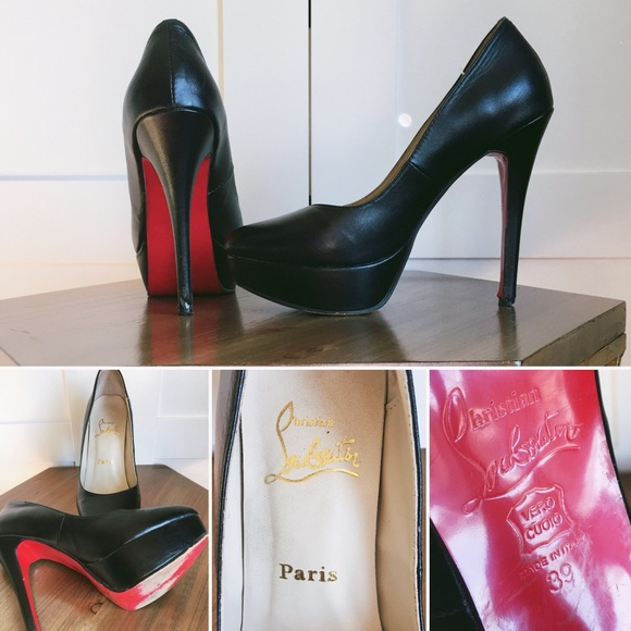 hot sales f8b58 4b4b5 low price christian louboutin bianca double platform pump xl ...